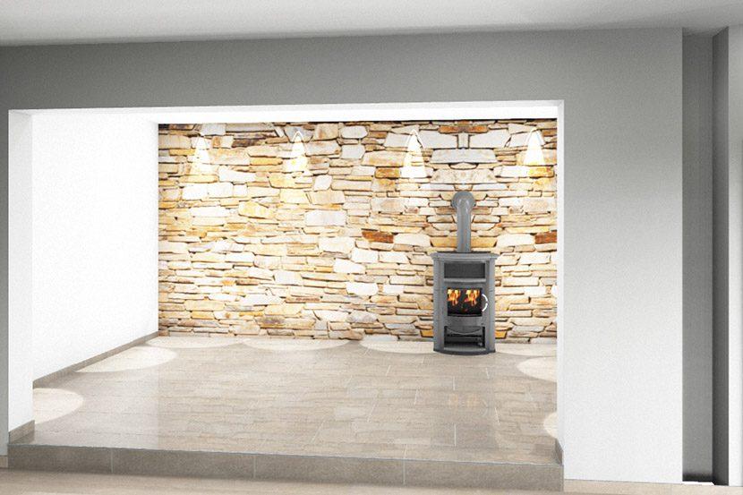 CAD Plan Fr Wohnzimmer Inklusive Marmor Fliesen Und Kamin